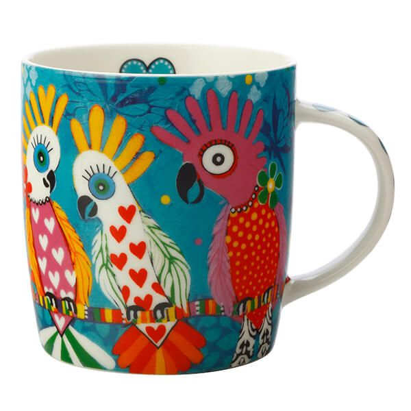 Maxwell & Williams Love Hearts Chatter 370ml Ceramic Mug Gift Boxed