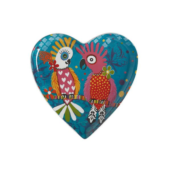 Maxwell & Williams Love Hearts Chatter 15.5cm Ceramic Plate Gift Boxed