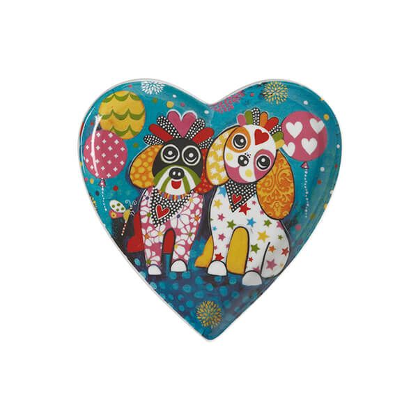 Maxwell & Williams Love Hearts Oodles of Love 15.5cm Ceramic Plate Gift Boxed
