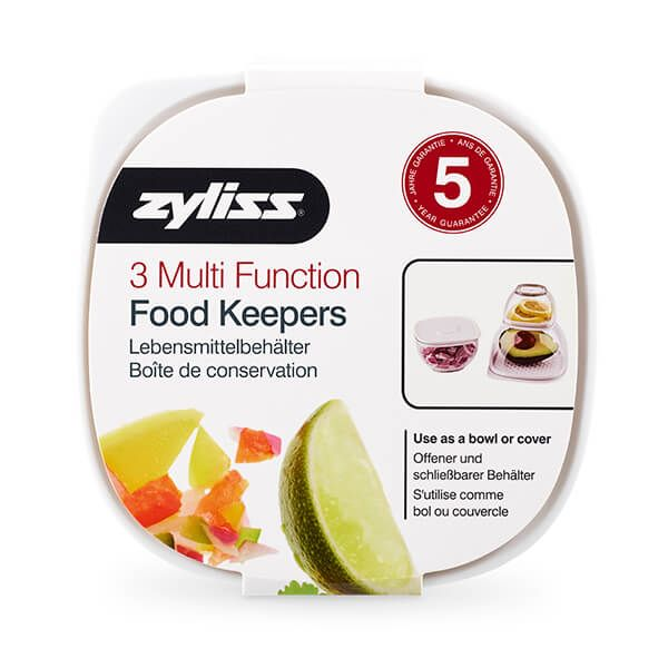 Zyliss Multi Function Food Keepers Set Of 3