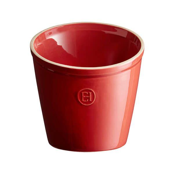 Emile Henry Burgundy Utensil Pot