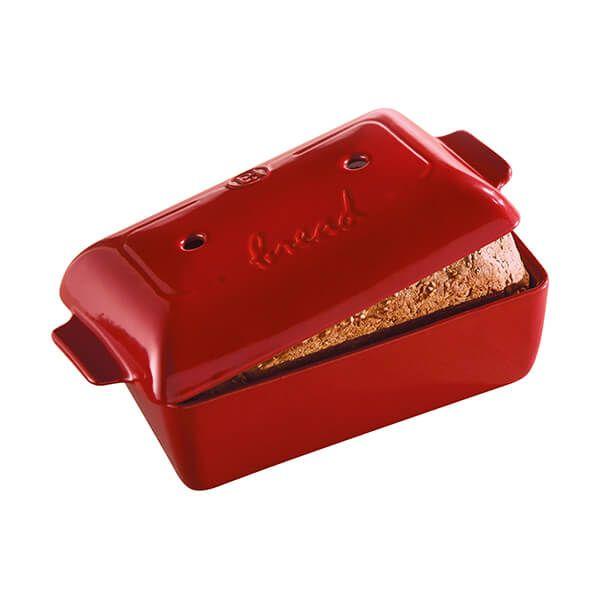 Emile Henry Burgundy Bread Loaf Baker 2.2L