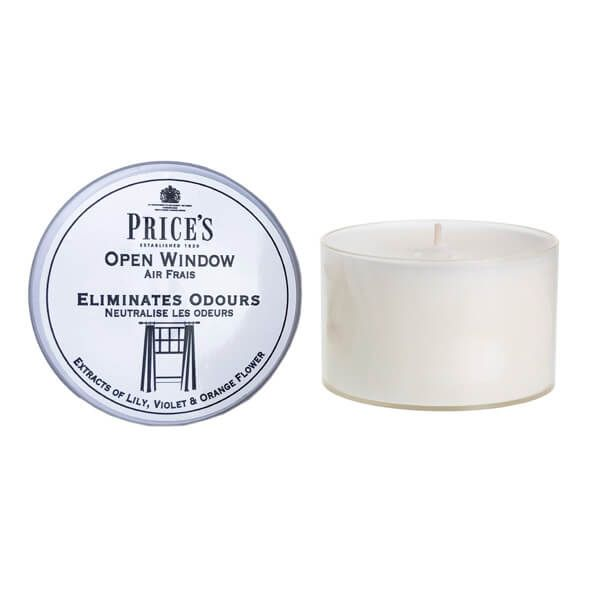 Prices Fresh Air Open Window Tin Candle