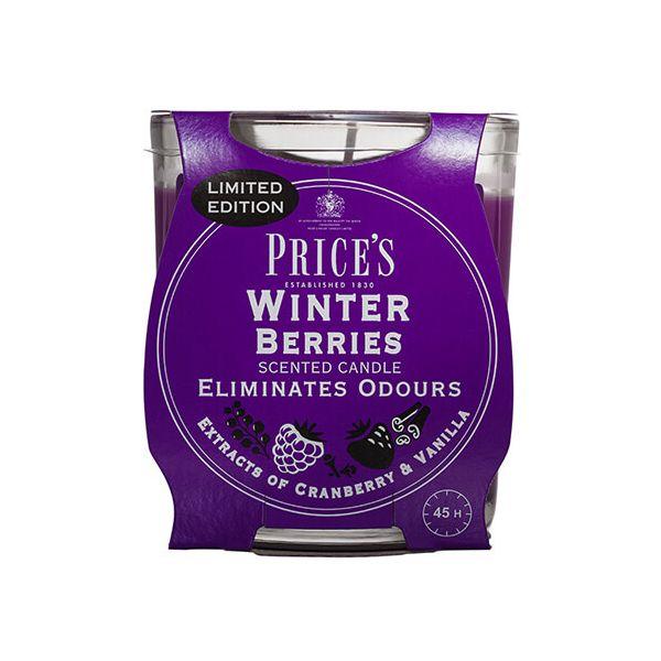 Prices Fresh Air Jar Candle Winter Berries