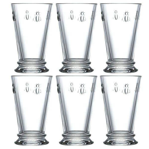 La Rochere Bee Long Drink Glass 310ml Set of 6