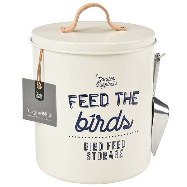 Burgon & Ball 'Feed the Birds' Bird Food Tin - Stone