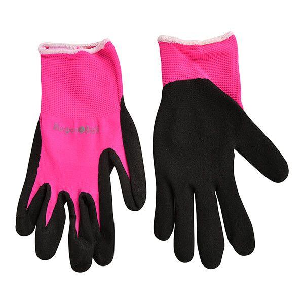 RHS Florabrite Fluorescent Garden Glove - Pink