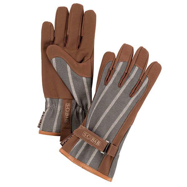 Burgon & Ball Sophie Conran Striped Glove Grey
