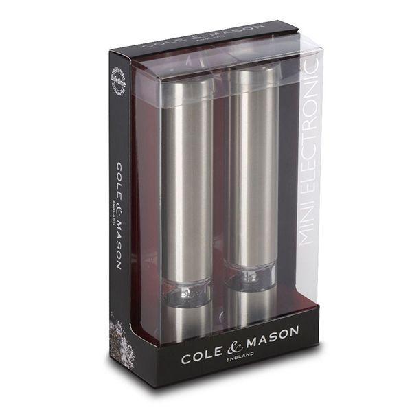 Cole & Mason Chiswick Mini Electronic Mill Gift Set