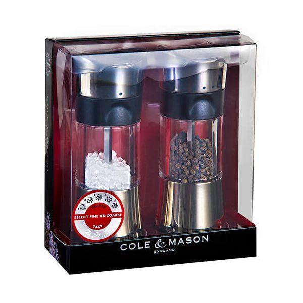 Cole & Mason Horsham Inverta Precision Mill Gift Set Chrome