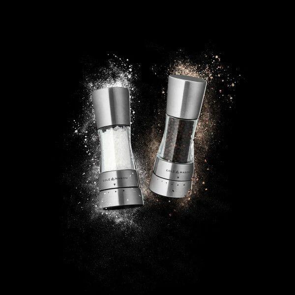 Cole & Mason Gourmet Precision+ Derwent Mini Salt & Pepper Mill Set