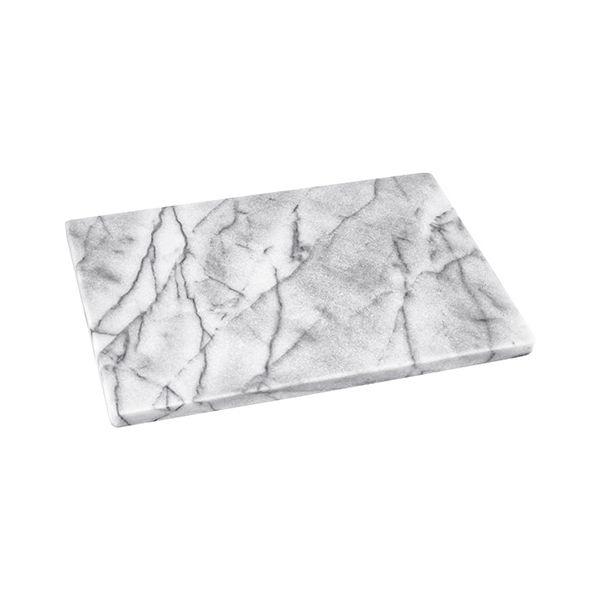 Judge White Marble Oblong Platter 30 x 20cm