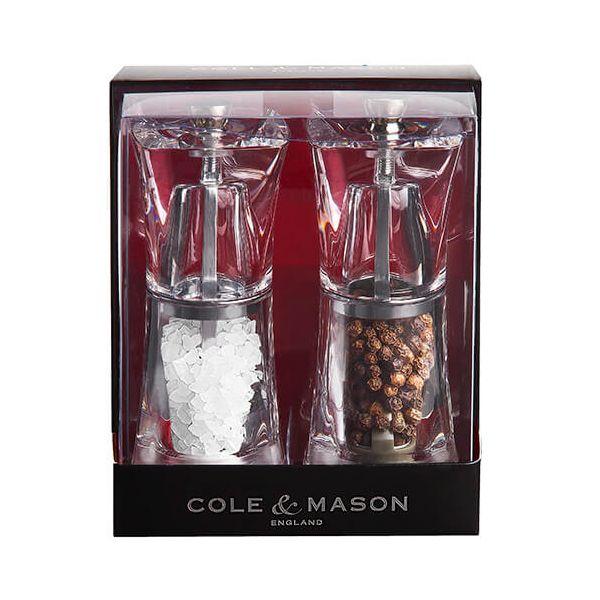 Cole & Mason Crystal Acrylic Precision Gift Set