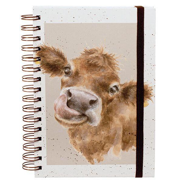 Wrendale Mooo Spiral Bound Notebook
