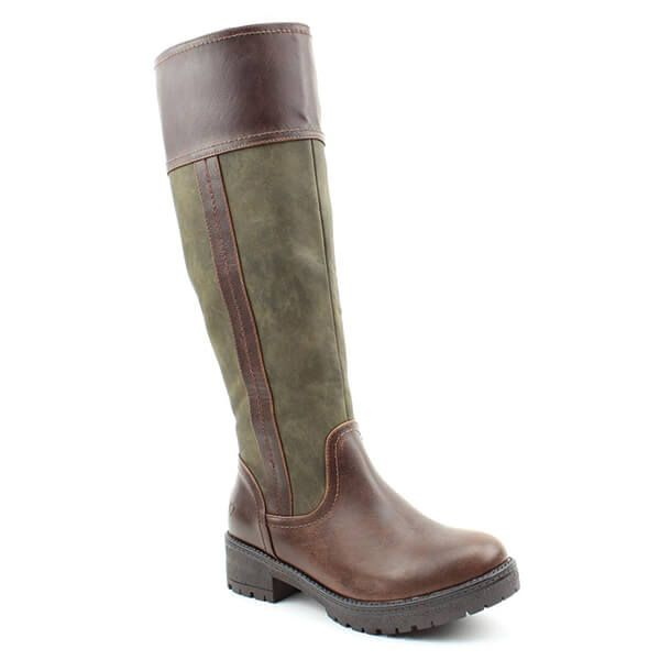 Heavenly Feet Burley Chocolate Forest Boots