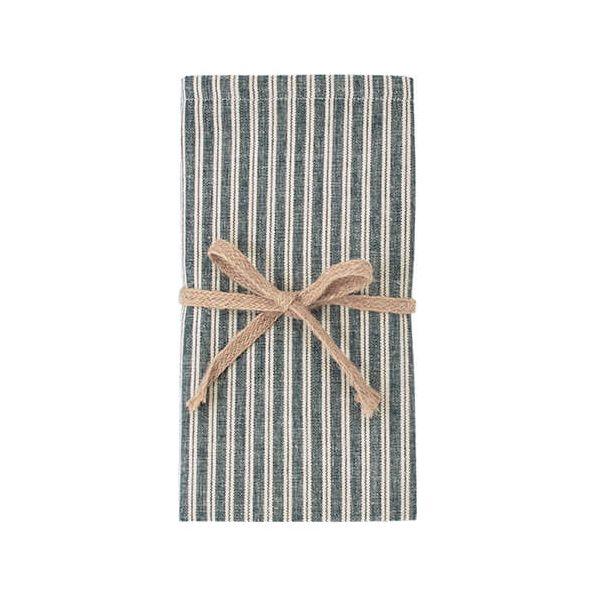 Walton & Co Hampton Stripe Napkin Set Of 4