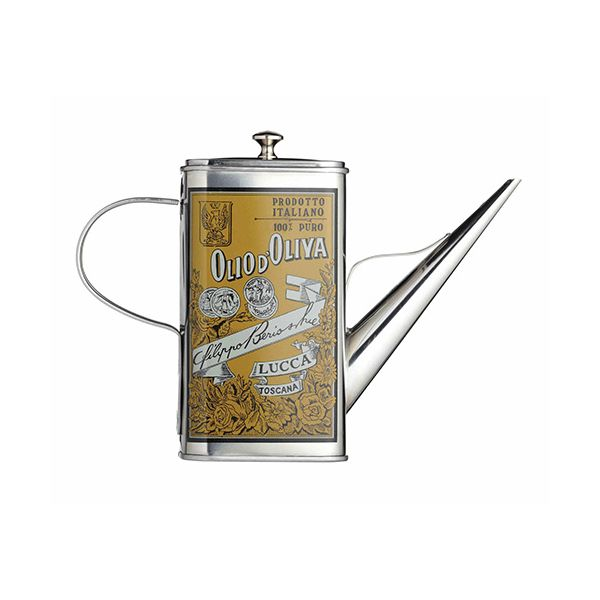 World of Flavours Italian Stainless Steel Oil Can Drizzler