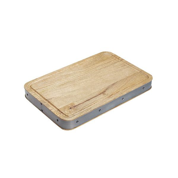 Industrial Kitchen Mango Wood Butcher Board Rectangular
