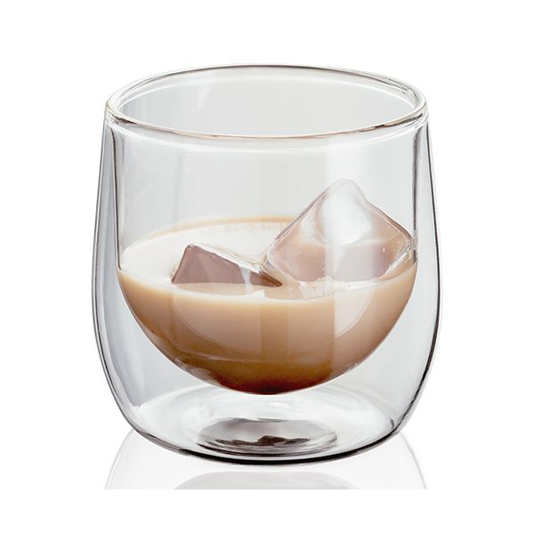 Judge Double Walled 250ml Tumbler Glass Set Of 2