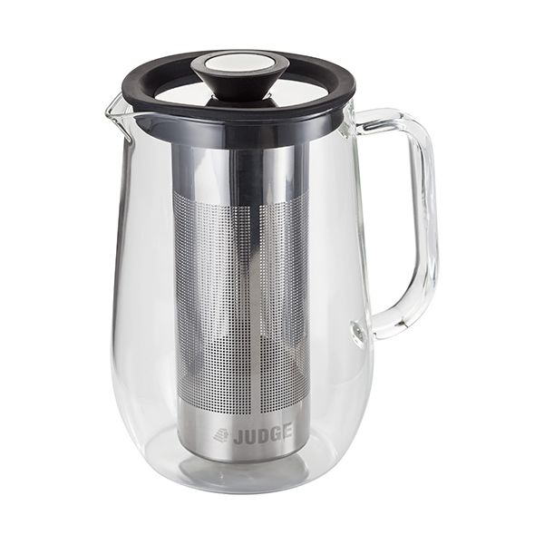 Judge Brew Control Glass Cafetiere