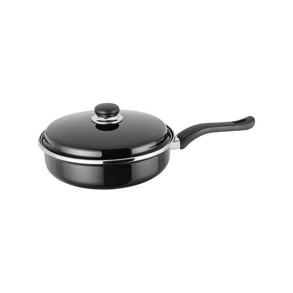 Judge Induction Black 24cm Saute Pan
