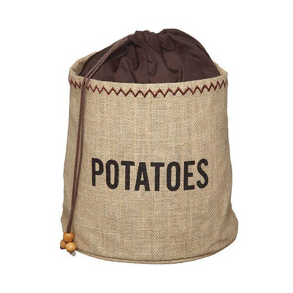 Natural Elements Potato Jute Sack