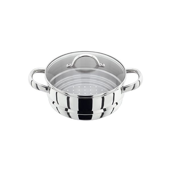 Judge 20cm Multi Steamer Insert With Glass Lid