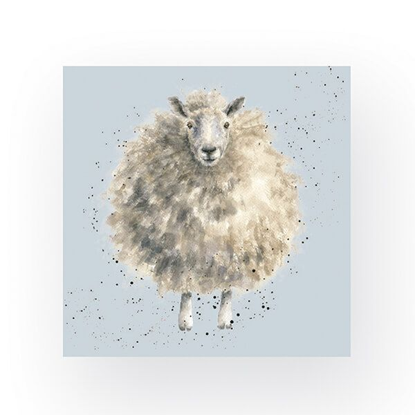 Wrendale Designs Pack of 20 Cocktail Size 'The Woolly Jumper' Sheep Napkins