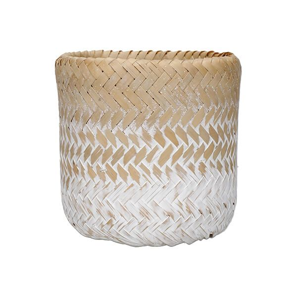 KitchenCraft Woven Bamboo Ombre Planter
