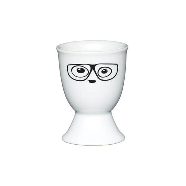 KitchenCraft Glasses Porcelain Egg Cup