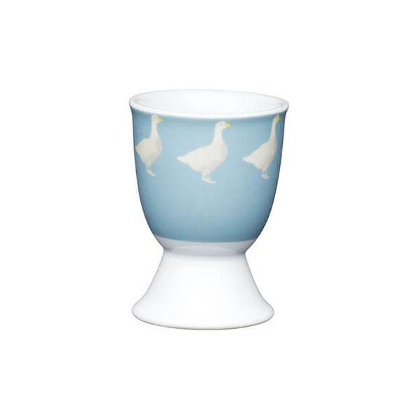 KitchenCraft Grey Goose Porcelain Egg Cup