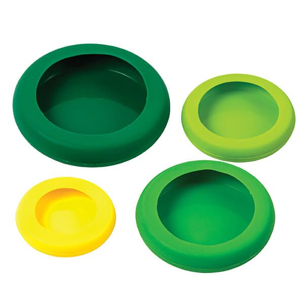 Food Huggers Pack of Four Silicone Food Huggers
