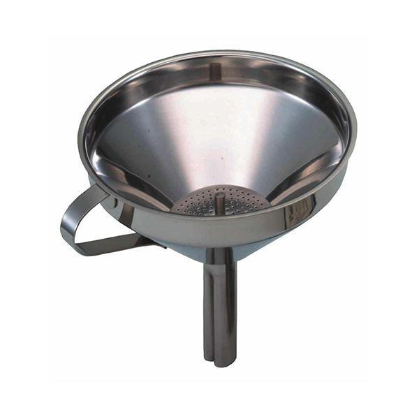 KitchenCraft Stainless Steel Funnel 13cm