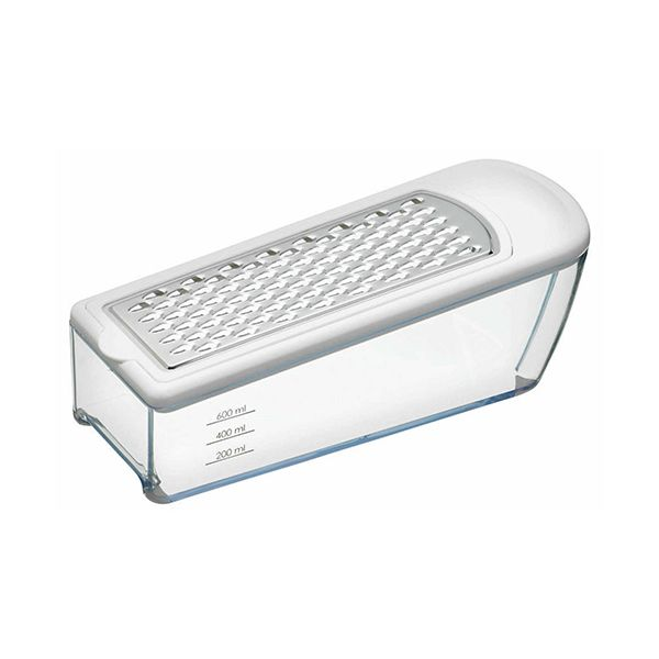 KitchenCraft Grater and Graduated Acrylic Collector