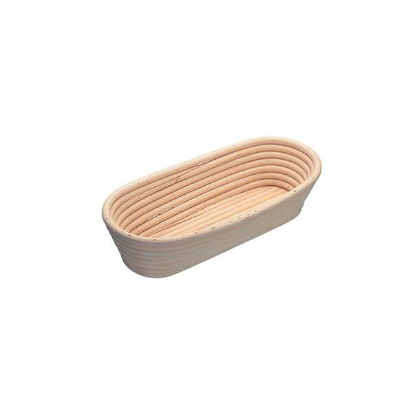 KitchenCraft Oval Loaf Proving Basket, 27 x 13 x 6cm