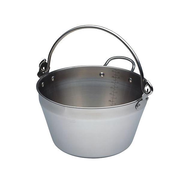 Kitchen Craft Home Made Stainless Steel Mini Maslin Pan 5 Litres