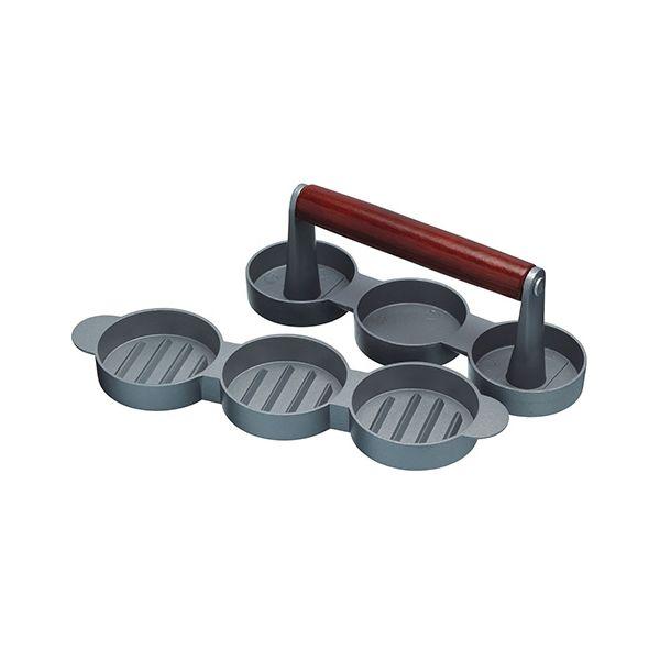 KitchenCraft Home Made Mini Burger/Sliders Press, 5cm Diameter