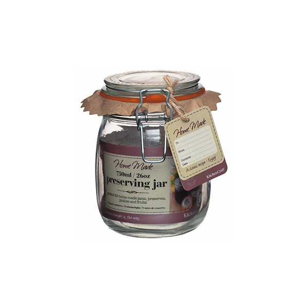 Home Made Glass 750ml Preserving Jar