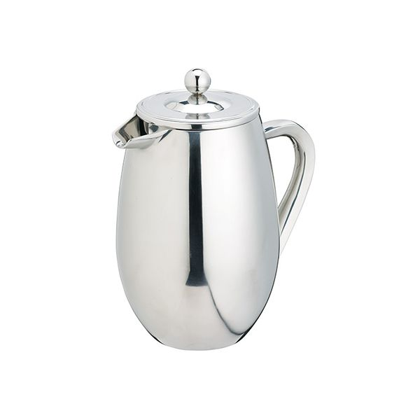 Kitchen Craft Le Xpress 3 Cup Double Walled Stainless Steel Cafetiere