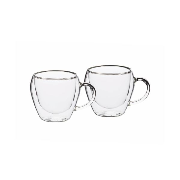 Le Xpress Double Walled Set of 2 Teacups