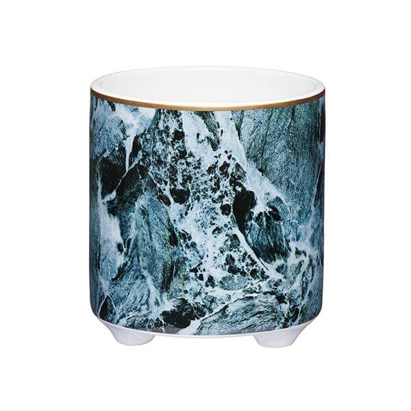 KitchenCraft 11cm Marble Planter