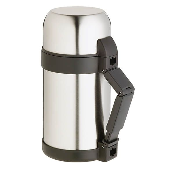 Master Class Stainless Steel 1 Litre Vacuum Soup / Food Flask