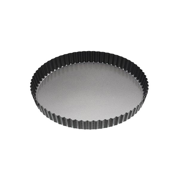 "Master Class Non-Stick Fluted Loose Base Quiche Tin Round 28cm (11"")"