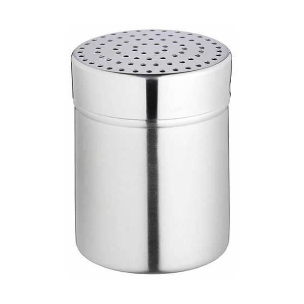 KitchenCraft Stainless Steel Medium Hole Shaker and Lid 9cm