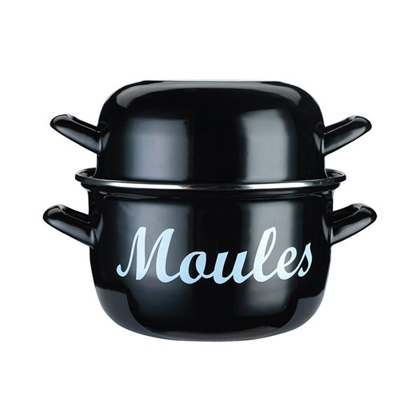 World of Flavours Mediterranean Large 24cm Mussels Pot