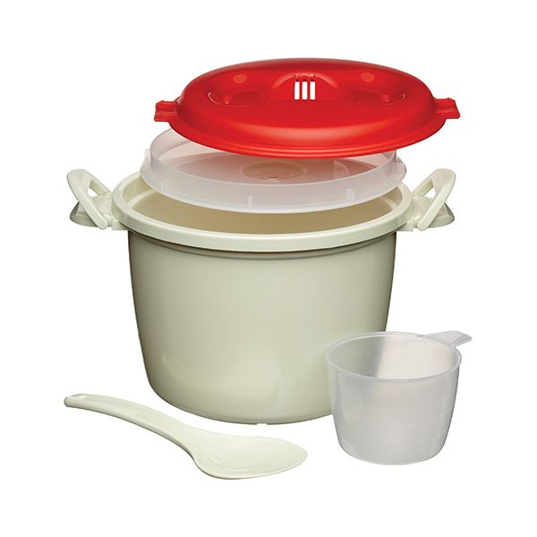 KitchenCraft Microwave 1.5 Litres Rice Cooker