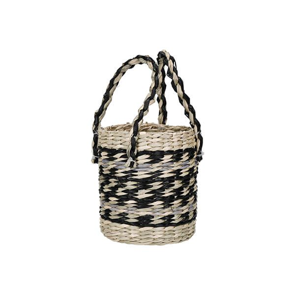 KitchenCraft Woven Seagrass Planter with Handles