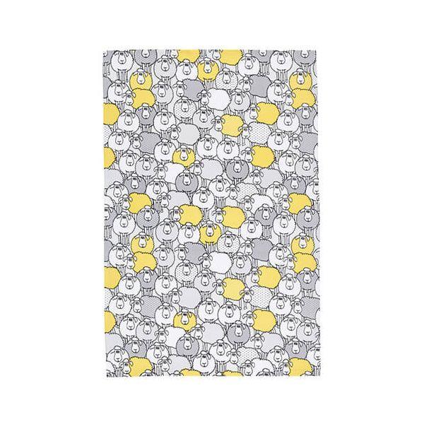 KitchenCraft Sheep Tea Towels 2 Piece Set