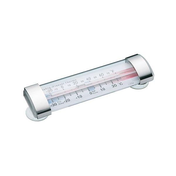 KitchenCraft Plastic Fridge and Freezer Thermometer
