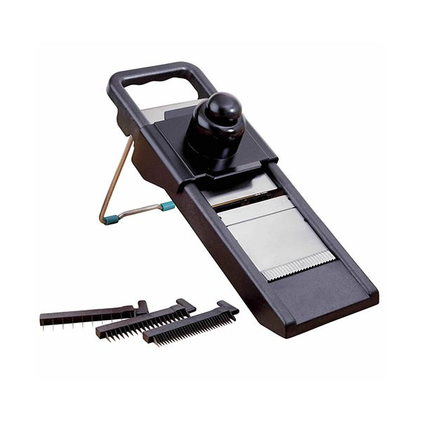 KitchenCraft Mandoline Cutter With 3 Stainless Steel Blades